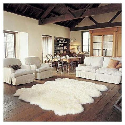 Large Faux Sheepskin Rug by Large Faux Sheepskin Rug Our Home