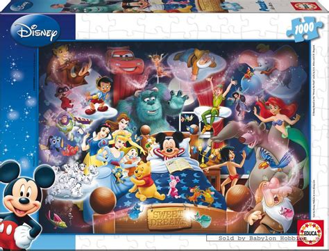 Best Terlaris Puzzle Jigsaw Disney Princess Panorama 1000 Pcs Sni 1000 pcs jigsaw puzzle disney family mickey s