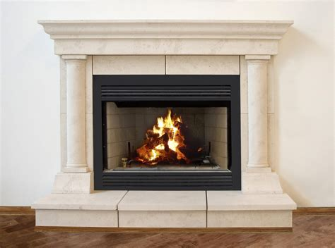 Pebble Tile Fireplace by Fireplace Mantels With Tv Above