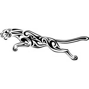 Jaguar Decals Tribal Jaguar Wall Sticker Tribal Wall Decal Ebay