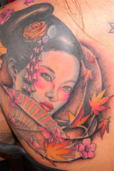 tattoo cô gái nh t geisha geisha tattoo by galen luker tattoonow