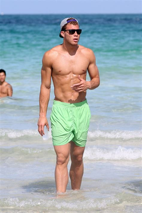blake griffin in blake griffith in south beach zimbio