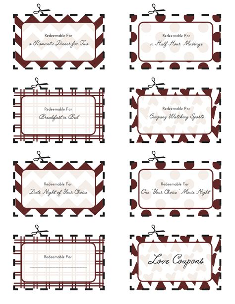 s coupons for him 8 best images of printable s for him free