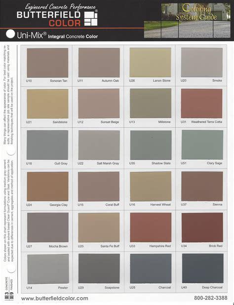 concrete color colored concrete chattanooga huntsville nashville