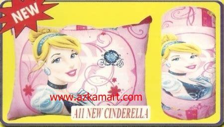 Bantal Cinta Motif Princess Cinderella jual balmut chelsea toko selimut sprei bedcover murah