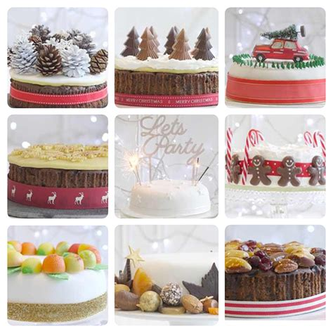 how to decorate cakes at home christmas cake decorating ideas woman and home