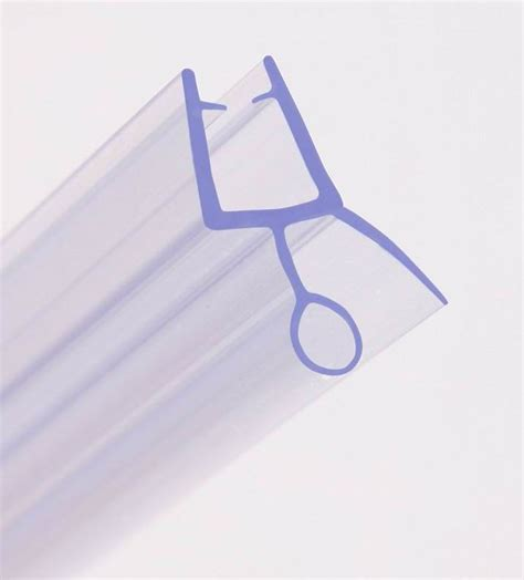 rubber plastic seal for bath shower screen fits 4 8mm
