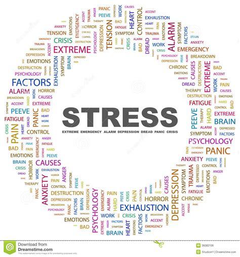 STRESS stock vector. Image of backdrop, emotion, crisis