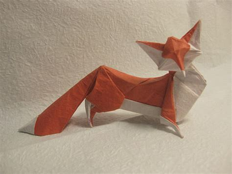 Origami Fox - beautiful exles of origami paper hongkiat