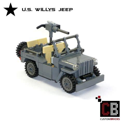 ww2 german jeep custombricks de ww2 wwii wehrmacht willys jeep mit