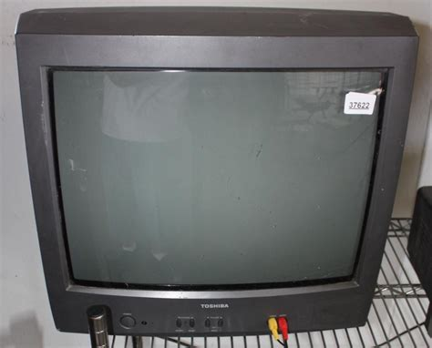 Tv Toshiba 21 Flat toshiba 21 quot tv