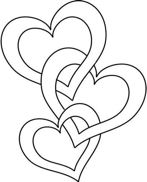 heart coloring pages printable print coloring heart