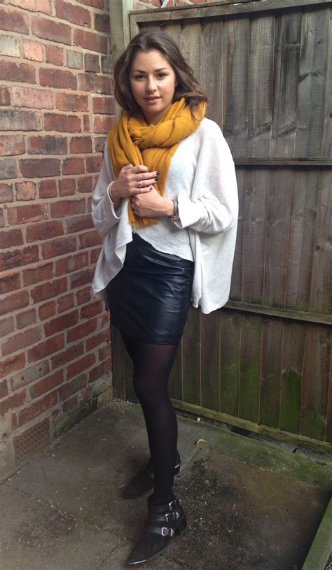 cool  classy leather skirt outfit ideas  wow style