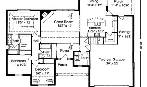 ranch style floor plans open 27 artistic ranch style house plans with open floor plans