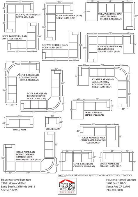 sofa sizes best 25 sectional sofas ideas on pinterest big couch