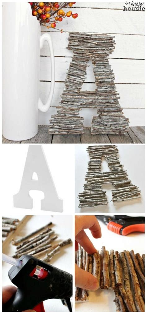diy decoration for 20 pretty diy decorative letter ideas tutorials