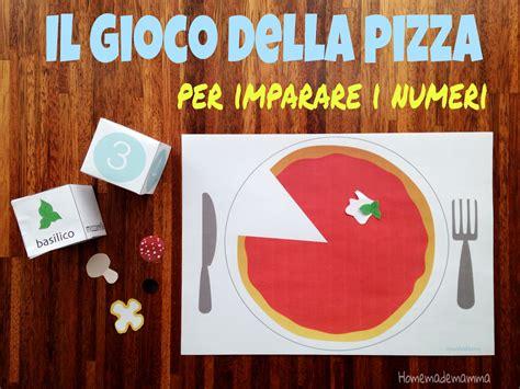 giochi con le lettere per bambini il gioco della pizza per imparare i numeri