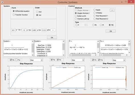 Mathworks Application Matlab Application For Controller Synthesis File