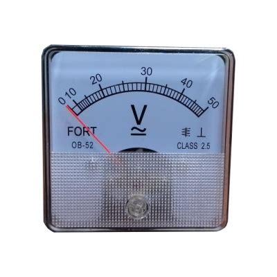 Jual Voltmeter Dc Analog jual panel meter dengan harga terbaik indomakmur mandiri