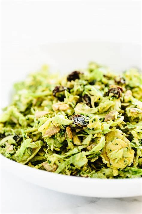 Detox Sprouts by Broccoli Brussels Sprout Slaw W Curry Dressing