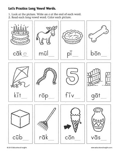 Free Printable Reading Readiness Worksheets For Kindergarten Printable Pages Print Activities For