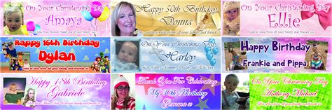 personalised party banners ozzy james parties and events