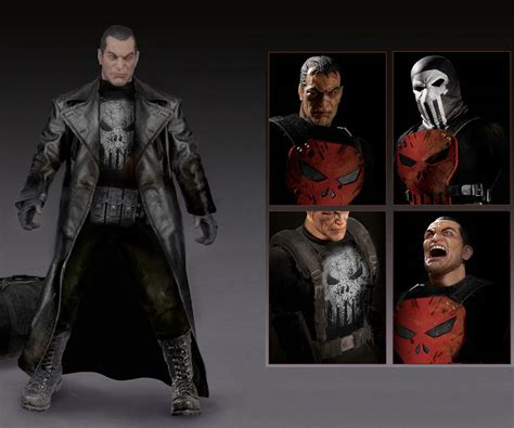 Wooowwexclusive Custom The Punisher 1 Limited Edition one 12 collective marvel punisher the