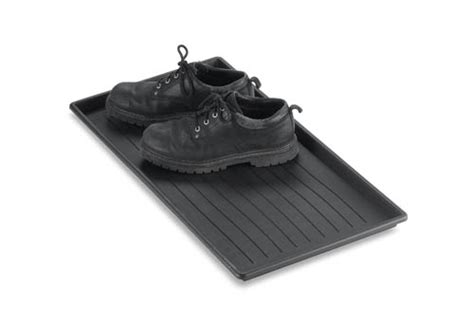 duty boot tray as food mat milk