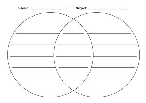 Venn Diagram Template Word by 36 Venn Diagram Templatees Free Premium Templates