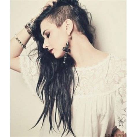 undercut long hair long black undercut undercut pinterest dubai