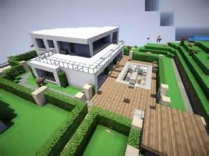 Modern House Minecraft minecraft strand villen v 1 0 maps mod f 252 r minecraft