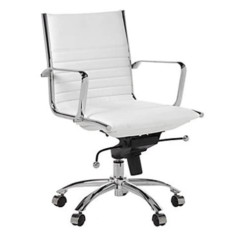 White Office Desk Chair Malcolm Office Chair White Desks Office Chairs Home Office Furniture Z Gallerie