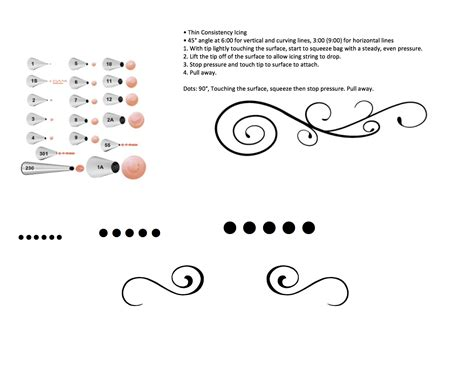 printable practice sheets for cake decorating practice sheets for cake decorating piping scroll work