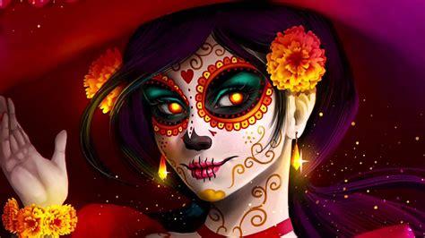 imagenes mujeres pintadas de catrinas catrinas en halloween youtube