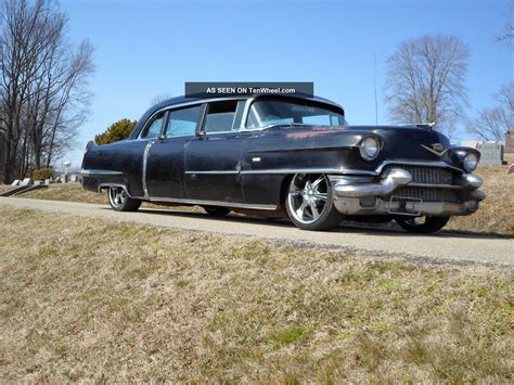 cadillac chevy 1956 cadillac limo chevy suv lt1 chassis lowered