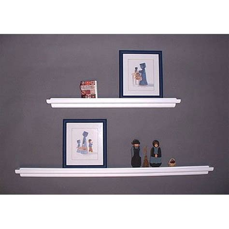 floating wall shelf display ledge in wall mounted shelves