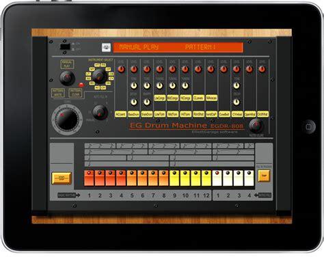 drum pattern app elliottgarage egdr808 drum machine app for ipad