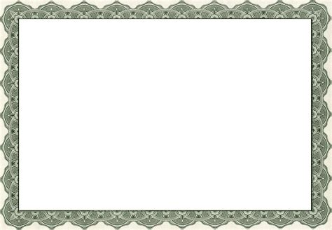 pages template certificate free printable certificate borders