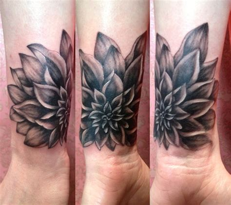 flower tattoo around wrist 41 all around wrist tattoos