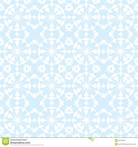 white pattern on blue seamless pattern stock images image 34779944