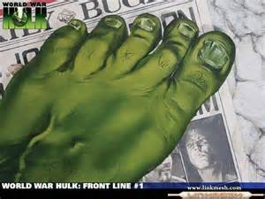 el pie hulk hulk