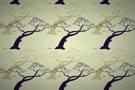 Art Deco Colors free japanese pine tree stripe wallpaper patterns