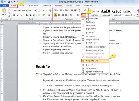 document theme definition microsoft word 3 quick tips to insert different types of horizontal lines