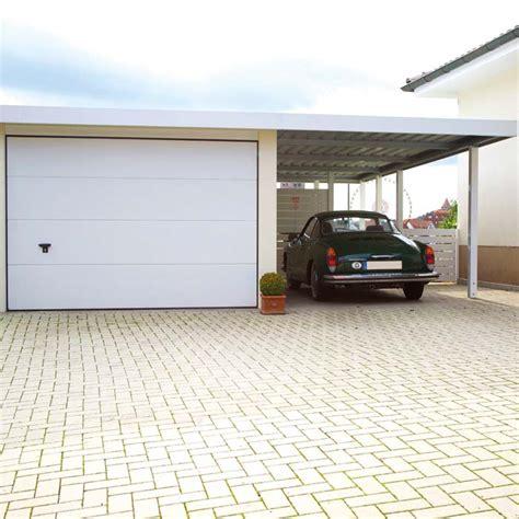 garage mit carport garage siebau aus stahl garage fertiggarage mit
