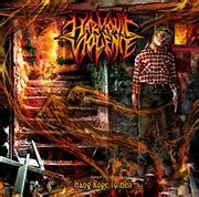 Cd Avulsed X Nicrov Lycanthropic Carnage visualdarkness metal album cover album