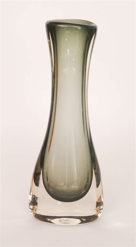 Whitefriars Vase by A Large Whitefriars Swung Out Vase Designed By Geoffrey