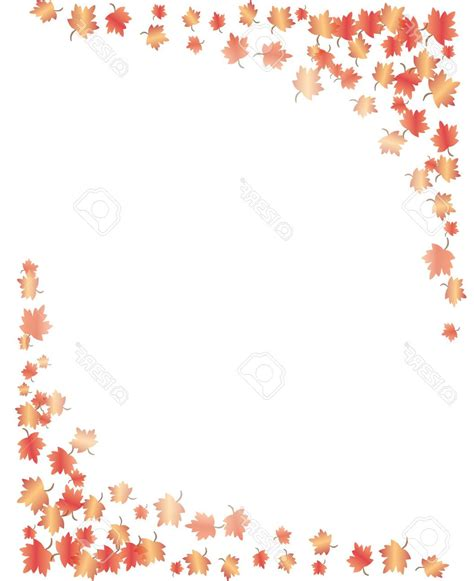 best free vector best free fall leaves vector border design 187 free vector