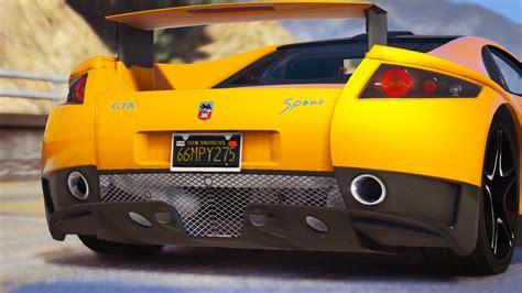 Autos Tuning Gta 5 by Gta Spano Add On Tuning Auto Spoiler Gta5 Mods