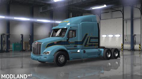 peterbilt  werner skins mod  american truck simulator ats