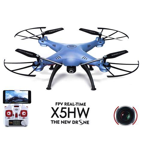 Drone Syma X5hw Wifi Attitude Hold syma x5hw wifi fpv with 2mp hd altitude hold 3d